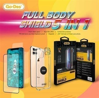 Galaxy Note 9 Go Des 5 in 1 Full Body Shield