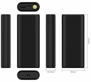 Wiwu Firefly 10000 Mah Type-C Powerbank